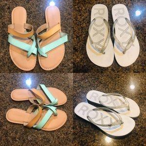 Summer Sandals Size 7 Lot